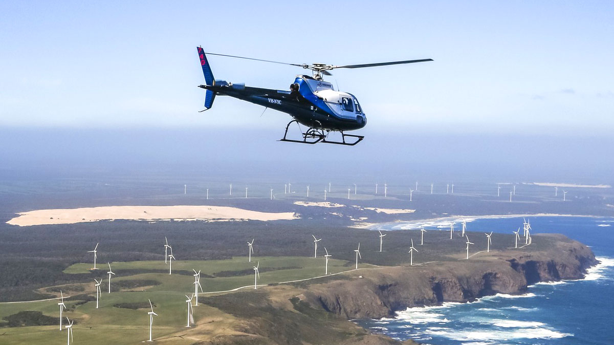"""Tall Timbers """"Edge of the World"""" & Tarkine Wilderness Helicopter Experience"""